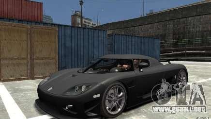 Koenigsegg CCXR Edition V1.0 para GTA 4