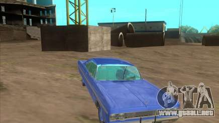 Plymouth Fury III coupe 1969 para GTA San Andreas