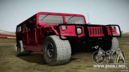 Hummer H1 Alpha Off Road Edition para GTA San Andreas
