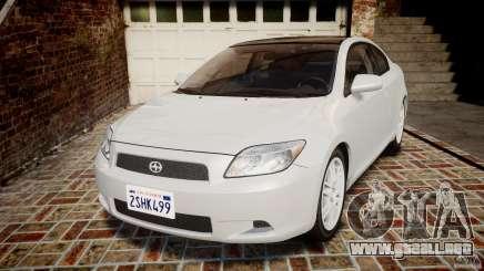 Toyota Scion tC 2.4 Stock para GTA 4