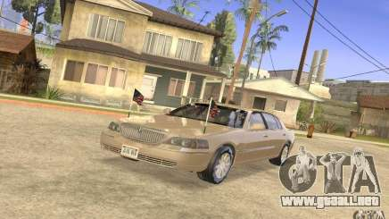 Lincoln Towncar Secret Service para GTA San Andreas