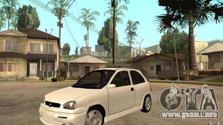 Opel Corsa GSI 16V para GTA San Andreas