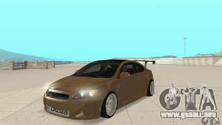 Toyota Scion tC Edited para GTA San Andreas