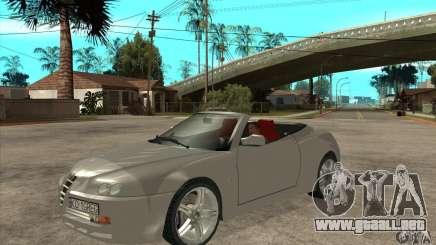 Alfa Romeo Spyder para GTA San Andreas