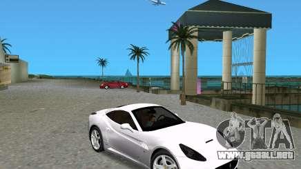 Ferrari California para GTA Vice City