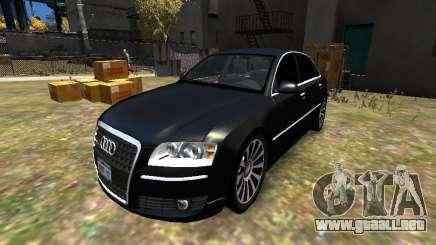 Audi A8L W12 para GTA 4