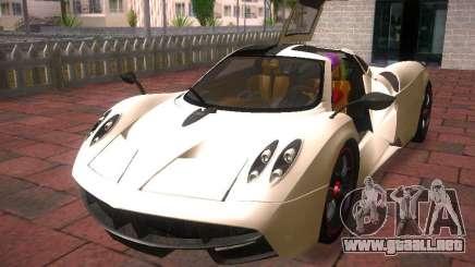 Pagani Huayra para GTA San Andreas