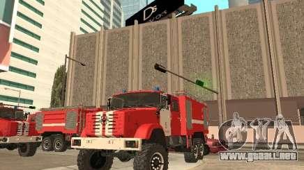 Firetruck ZIL para GTA San Andreas