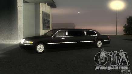 Lincoln Towncar limo 2003 para GTA San Andreas