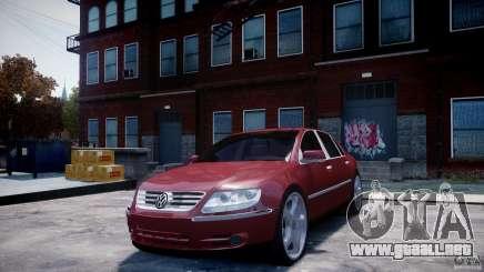 Volkswagen Pheaton W12 para GTA 4