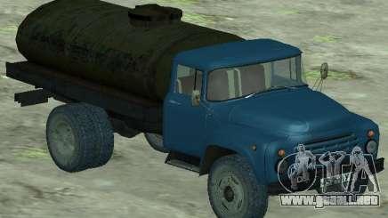 Camión cisterna de leche ZIL 130 para GTA San Andreas