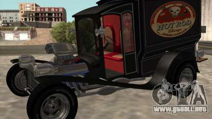 Ford model T 1923 Ice cream truck para GTA San Andreas