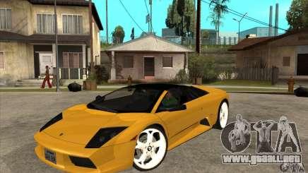 Lamborghini Murcielago Roadster Final para GTA San Andreas