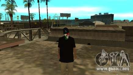 Mexicano Skin para GTA San Andreas