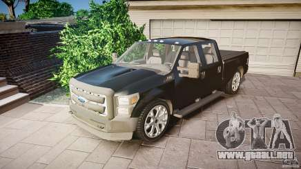 Ford F-350 Unmarked [ELS] para GTA 4