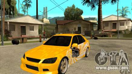 Lexus IS300 Tunable para GTA San Andreas