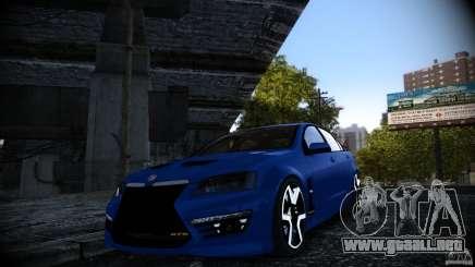 Holden HSV GTS para GTA 4