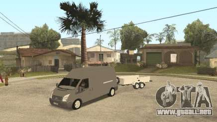 Ford Transit 2007 para GTA San Andreas