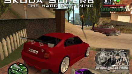 Skoda Superb HARD GT Tuning para GTA San Andreas