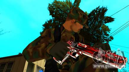 Trollface weapons pack para GTA San Andreas