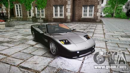 Coquette FBI car para GTA 4