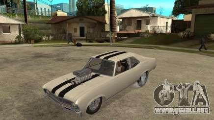 1969 Chevrolet Nova ProStreet Dragger para GTA San Andreas