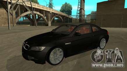 BMW M3 E92 Tunable para GTA San Andreas