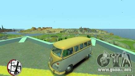 Volkswagen T1 Bus 1967 para GTA 4