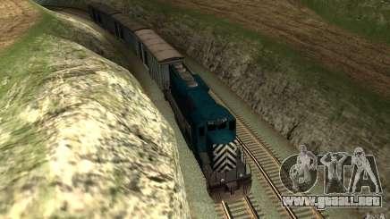 San Andreas Beta Train Mod para GTA San Andreas