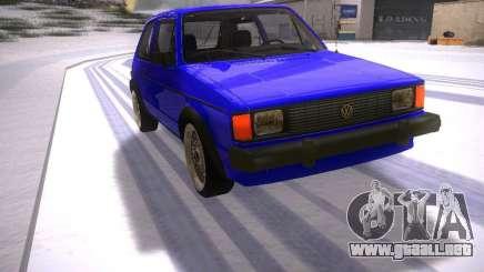 Volkswagen Rabbit GTI para GTA San Andreas