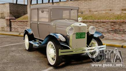 Ford Model T 1927 para GTA 4