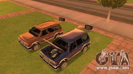Mountainstalker S para GTA San Andreas