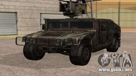 Hummer H1 from Battlefield 3 para GTA San Andreas