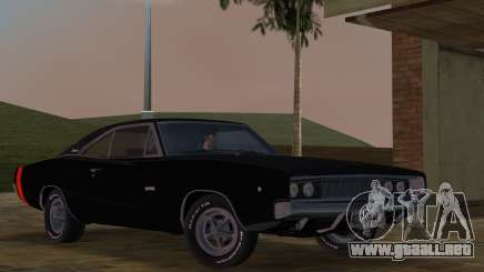 Dodge Charger 426 R/T 1968 v2.0 para GTA Vice City