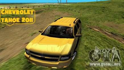 Chevrolet Tahoe 2011 para GTA Vice City