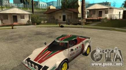 Lancia Stratos para GTA San Andreas