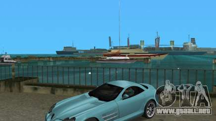 Mercedess Benz SLR Maclaren para GTA Vice City