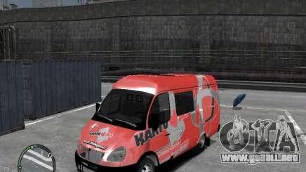 Gacela 2705 Telkomsel Van para GTA 4