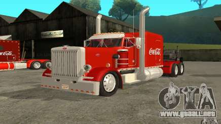 Peterbilt 379 Custom Coca Cola para GTA San Andreas