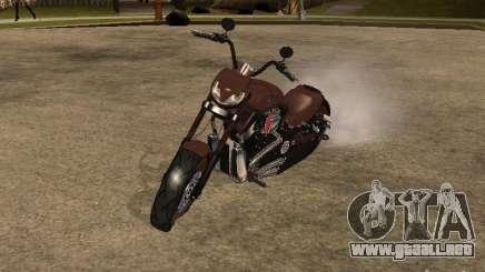 Harley Davidson para GTA San Andreas