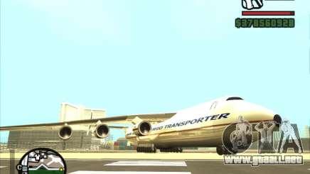 Antonov an-225 para GTA San Andreas