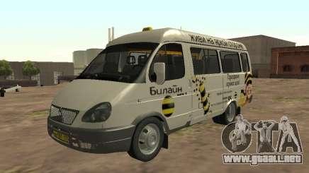 Gacela 32213 Beeline para GTA San Andreas