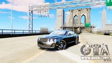 Bentley Continental SuperSports v2.5 para GTA 4