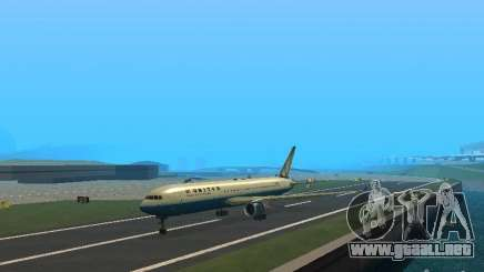 Boeing 767-300 United Airlines New Livery para GTA San Andreas