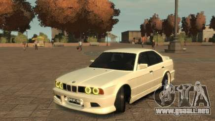 Bmw 535i (E34) tuning para GTA 4