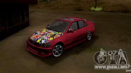 Lexus IS300 Hella Flush para GTA San Andreas