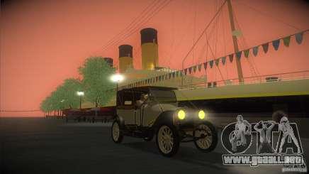 Russo-Balt con 2440 para GTA San Andreas