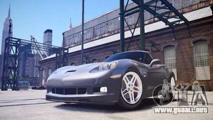Chevrolet Corvette Z06 para GTA 4
