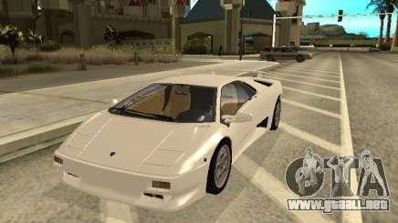 Lamborghini Diablo VT 1995 V2.0 para GTA San Andreas
