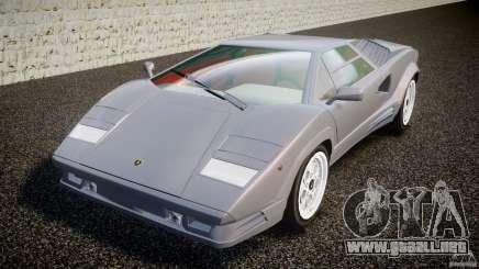 Lamborghini Countach para GTA 4